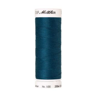 Mettler Polyester Sewing Thread (200m) Color #0483 Dark Turquois
