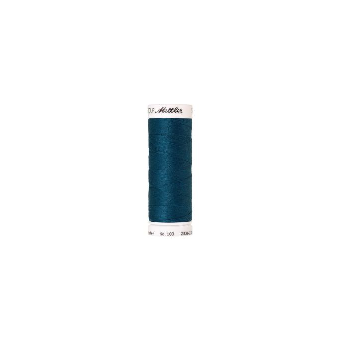 Mettler Polyester Sewing Thread (200m) Color 0483 Dark Turquois
