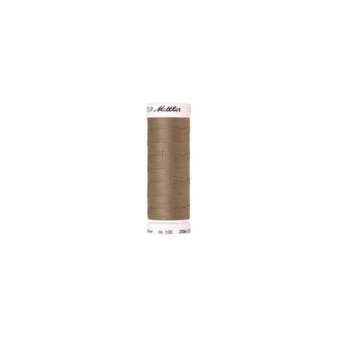 Fil polyester Mettler 200m Couleur n°0530 Herbe Sèche