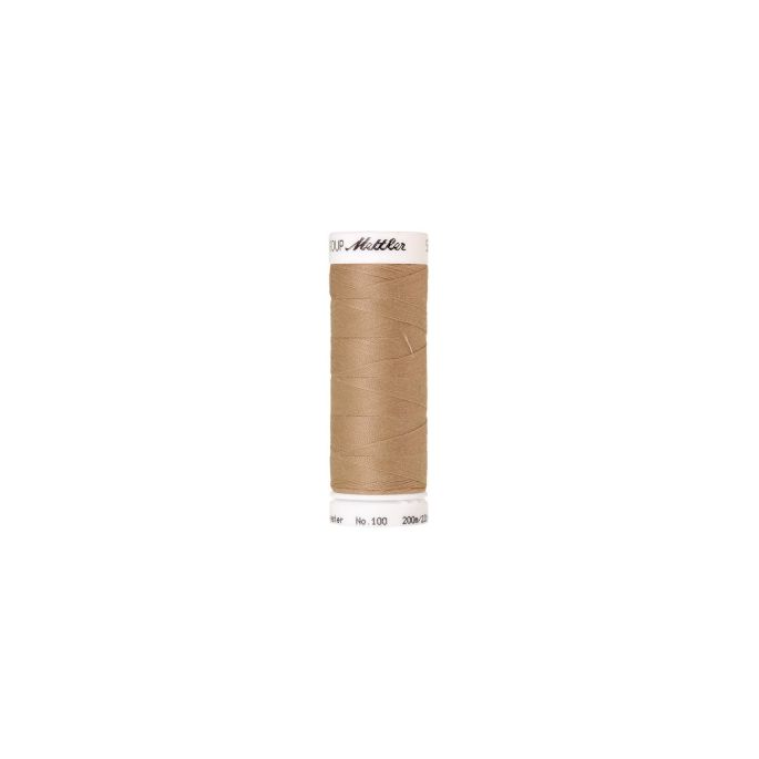Mettler Polyester Sewing Thread (200m) Color 0538 Straw