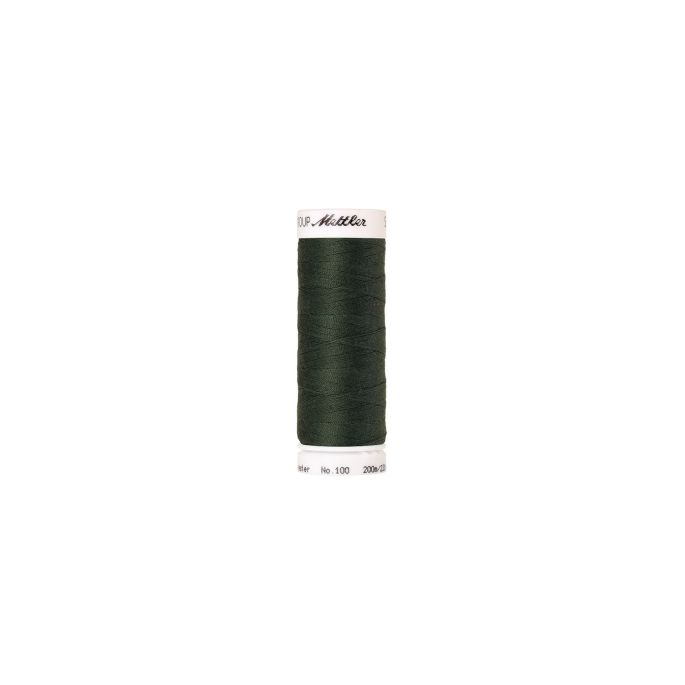 Mettler Polyester Sewing Thread (200m) Color 0627 Deep Green