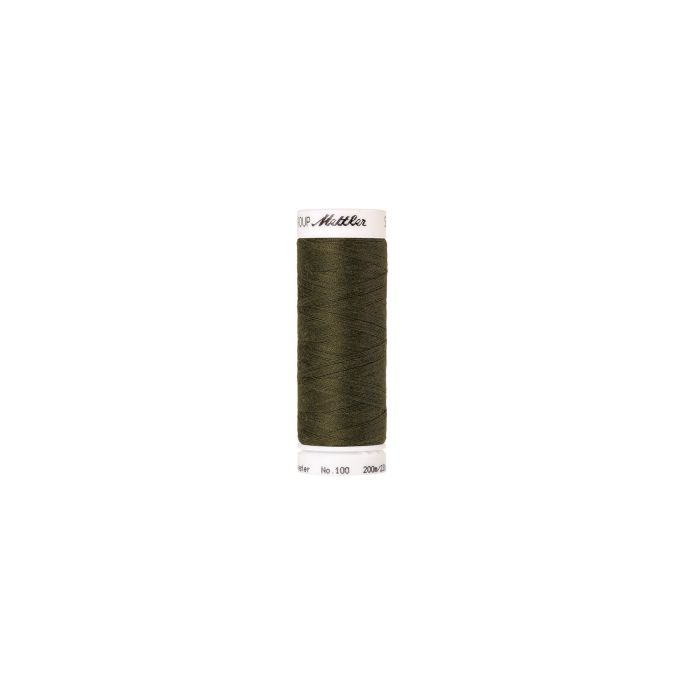 Fil polyester Mettler 200m Couleur n°0660 Sienne