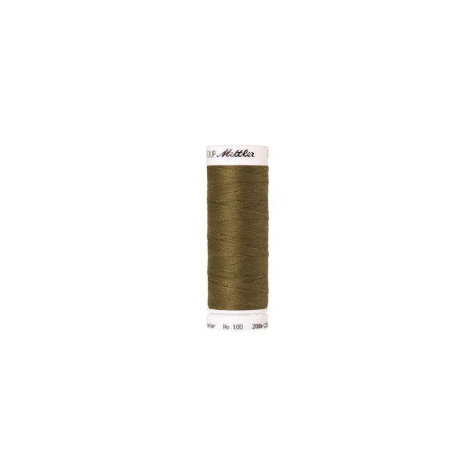Fil polyester Mettler 200m Couleur n°0666 Câpre