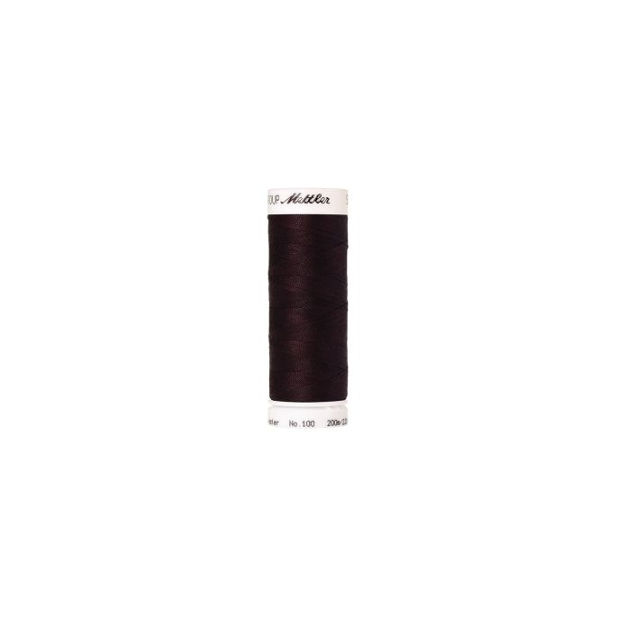 Fil polyester Mettler 200m Couleur n°0793 Acajou
