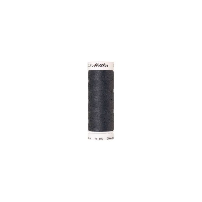 Fil polyester Mettler 200m Couleur n°0878 Gris Souris