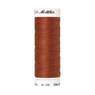 Fil polyester Mettler 200m Couleur n°1054 Rouge Brique