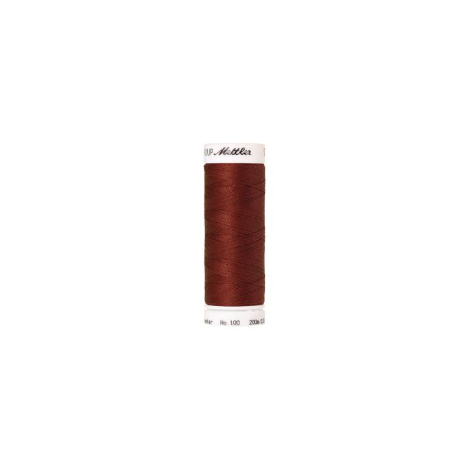 Mettler Polyester Sewing Thread (200m) Color 1074 Brick