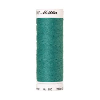 Mettler Polyester Sewing Thread (200m) Color #1091 Deep Aqua