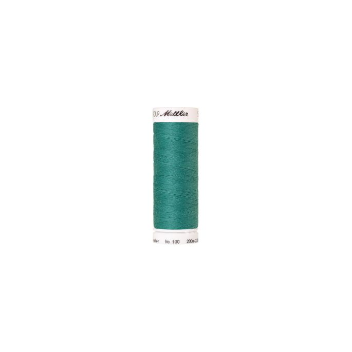 Mettler Polyester Sewing Thread (200m) Color 1091 Deep Aqua