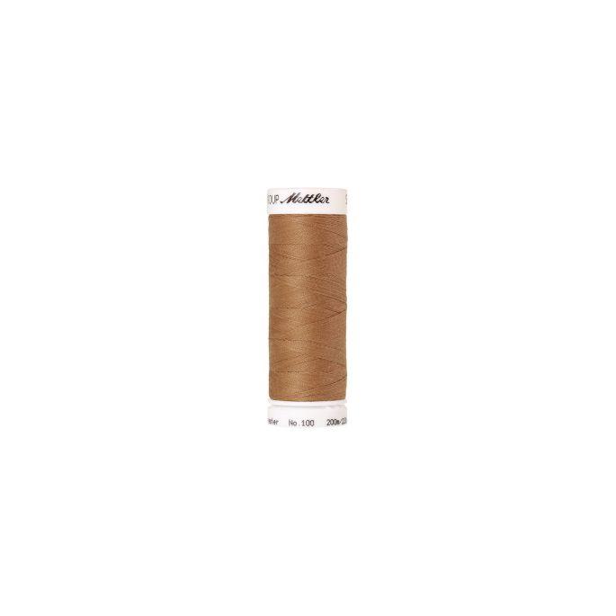Fil polyester Mettler 200m Couleur n°1121 Toffee