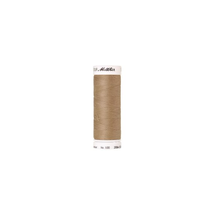 Fil polyester Mettler 200m Couleur n°1222 Grès