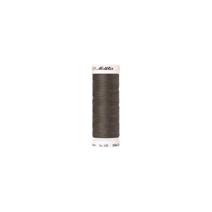 Fil polyester Mettler 200m Couleur n°1239 Etain
