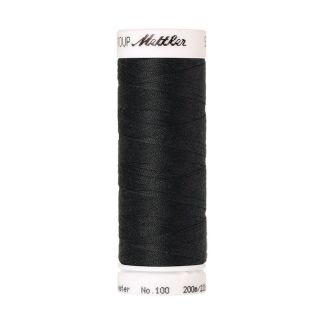 Fil polyester Mettler 200m Couleur n°1282 Charbon