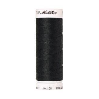 Fil polyester Mettler 200m Couleur n°1282 Charbon