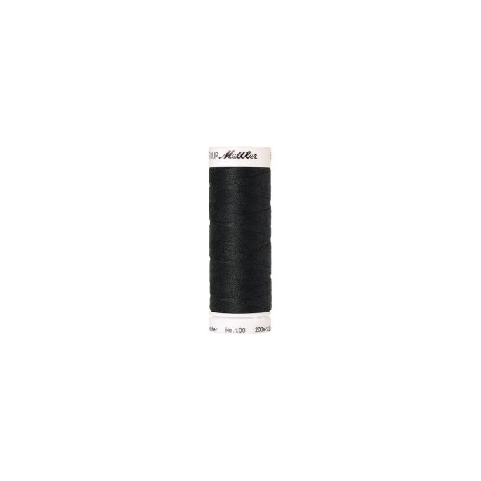Mettler Polyester Sewing Thread (200m) Color 1282 Charcoal