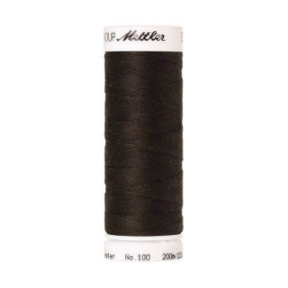 Mettler Polyester Sewing Thread (200m) Color #1382 Black Pepperc