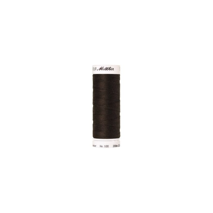 Mettler Polyester Sewing Thread (200m) Color 1382 Black Pepperc