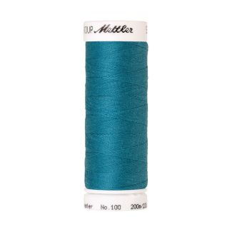 Fil polyester Mettler 200m Couleur n°1394 Bleu Caraïbes