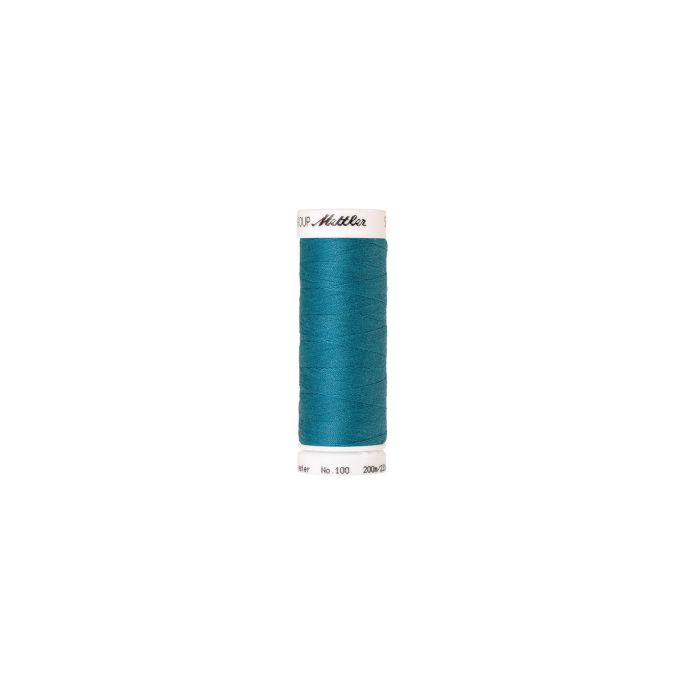 Mettler Polyester Sewing Thread (200m) Color 1394 Caribbean Blu