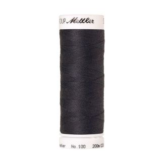 Mettler Polyester Sewing Thread (200m) Color #1452 Dark Pewter