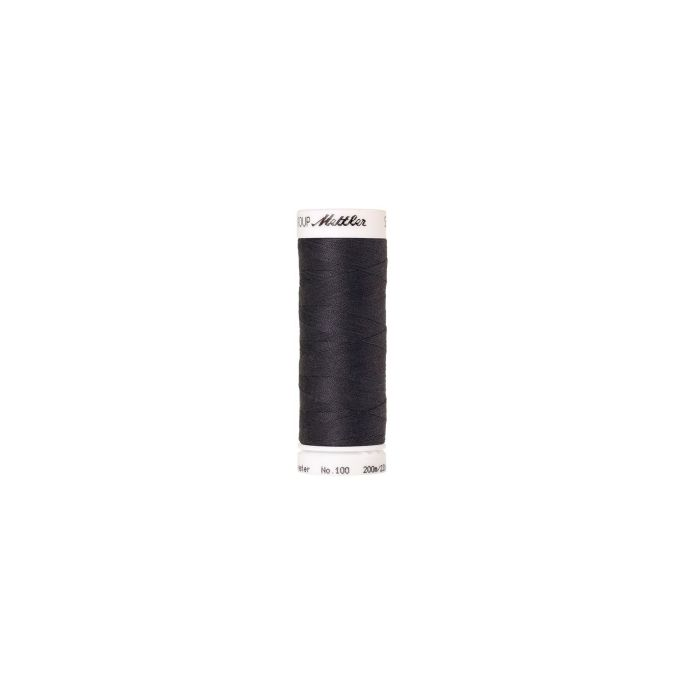 Mettler Polyester Sewing Thread (200m) Color 1452 Dark Pewter
