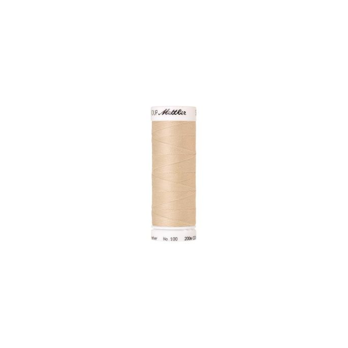 Mettler Polyester Sewing Thread (200m) Color 1453 White Mushroo