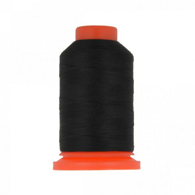 Polyester Overlock Thread (1000m) Black