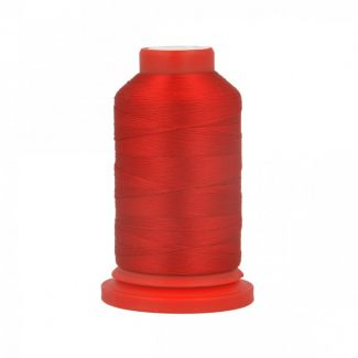 Fil Mousse Polyester (1000m) Rouge Feu