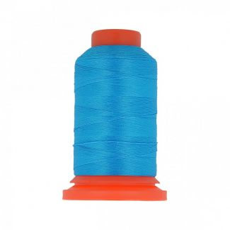 Polyester Overlock Thread (1000m) Aqua Blue