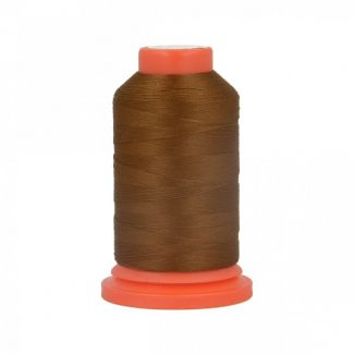 Polyester Overlock Thread (1000m) Brown