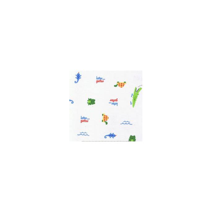PUL poly print Aligator (per 10cm)