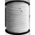 Face mask Elastic White 6.5mm (by meter) Made in France