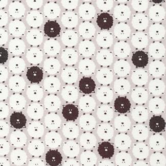 Organic cotton Fabric print Dolittles Sheep Cloud9
