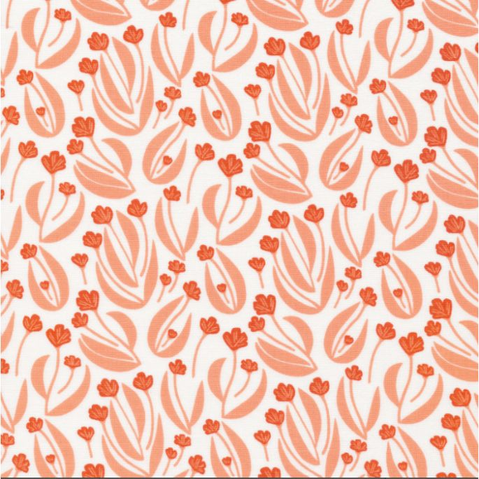 Organic cotton Popeline Stockbridge Bartnest Pink Cloud9