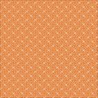 Organic cotton Popeline Lisbon Square Sparks Orange Cloud9