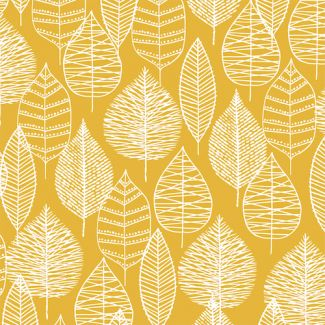 Laminated Organic Cotton Line Leaf Cloud9