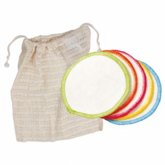 Makeup Remover Pads Reusable Organic Cotton with mesh bag (10 pads)