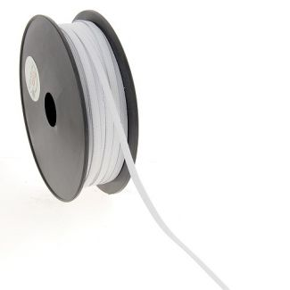 Elastique Maille 5mm Blanc (bobine 50m)