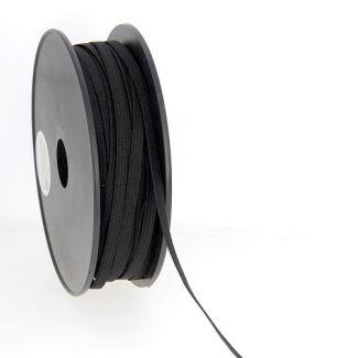 Elastique Maille 5mm Noir (bobine 50m)