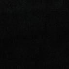 Black GOTS organic cotton micro loop terry