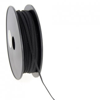 Soft Stretch Elastic Black 5mm (by meter)