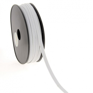 Soft Stretch Elastic White 7mm (by meter)
