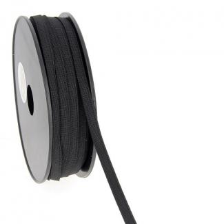 Elastique Bracelet 7mm Noir (au mètre)