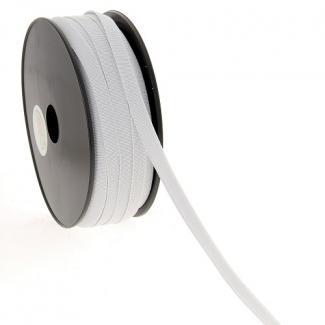 Elastique Bracelet 9mm Blanc (au mètre)