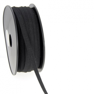 Soft Stretch Elastic Black 9mm (by meter)