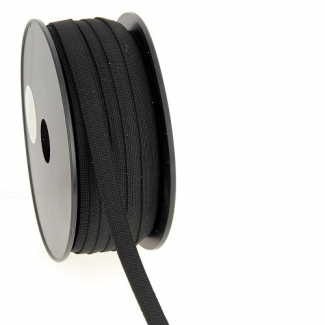 Soft Stretch Elastic Black 11mm (by meter)