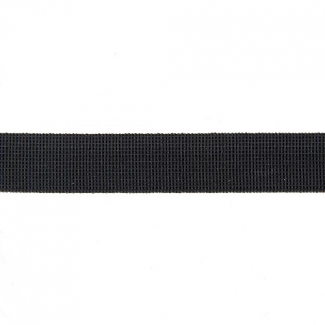 Soft Stretch Elastic Black 15mm (by meter)