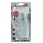 KAM brand pliers for plastic snaps (with owl + dies for T3/5/T8)