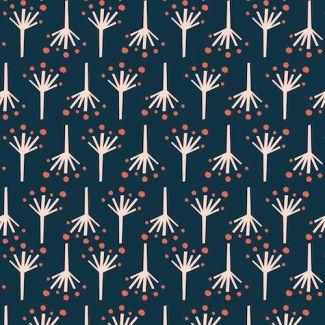 Coton Bio imprimé Modern Love Firecracker Monaluna