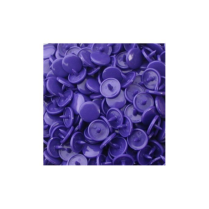 Pressions KAM T3 - Violet B35 - 100 jeux RONDS